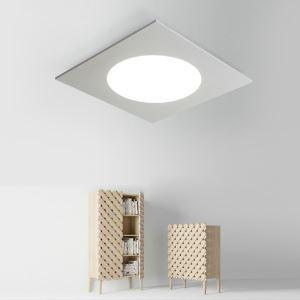 Plafonnier lampe de plafond pour chambre d'enfant couloir luminaire carré simple moderne à 2 modèles