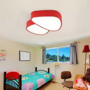 Plafonnier lampe de plafond pour chambre d'enfant couloir luminaire champignon créatif simple moderne à 5 modèles