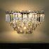 Afficher les détails pour Applique murale cristal élégante L 35.3 cm pour salle chambre pas cher