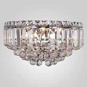 Luxueux Appliques murales cristal avec 3 lampes (base d'ampoule G9)