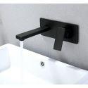 Robinet de baignoire en cuivre noir L22cm pour salle de bain