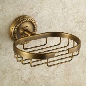 Porte-savon en cuivre étirage pour salle de bain rétro