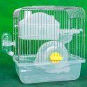 Cage de hamster blanc respirant