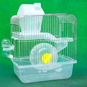 Cage de hamster bleu respirant