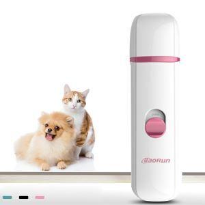 Coupe-griffes automatique rose pour chien chat