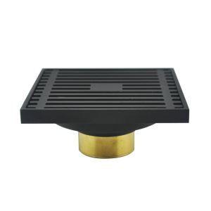 L'eau de drainage carré H43mm pour salle de bain