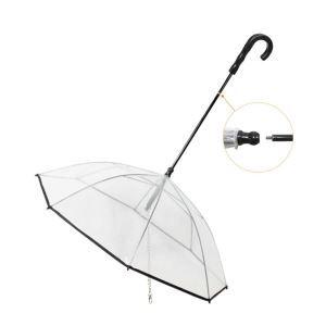 Parapluie avec corde de traction pour chien