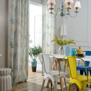 Rideau occultant imprimé en coton polyester écologique pour chambre d'enfant simple fraîche