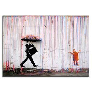 Tableau sans cadre graffiti 30*45cm