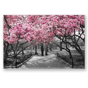 Tableau sans cadre arbre fleur 30*45cm
