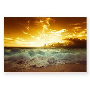 Tableau les couchers de soleil sans cadre 30*45cm