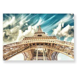 Tableau sans cadre la Tour Eiffel 30*45cm