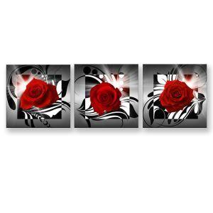 Tableau sans cadre rose 30*30cm