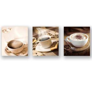 Tableau sans cadre café 30*30cm
