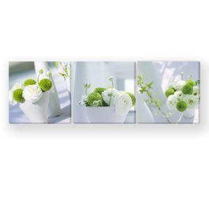 Tableau sans cadre petite fleur 30*30cm