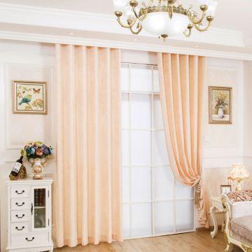Rideau occultant en chenille beige pour chambre à coucher anti-UV ...
