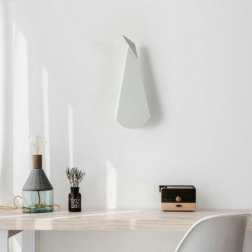 Applique Murale Led En Acrylique H36cm Forme Geometrique Irreguliere