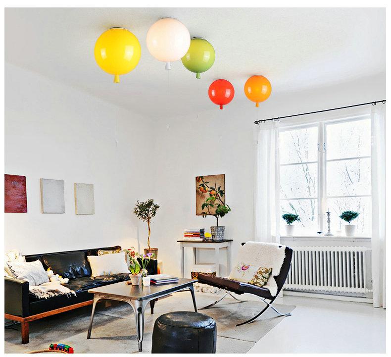 Plafonnier ballon pour salon