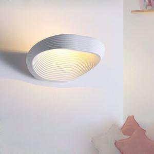 Applique murale LED en acrylique L25cm blanc pour chambre salle