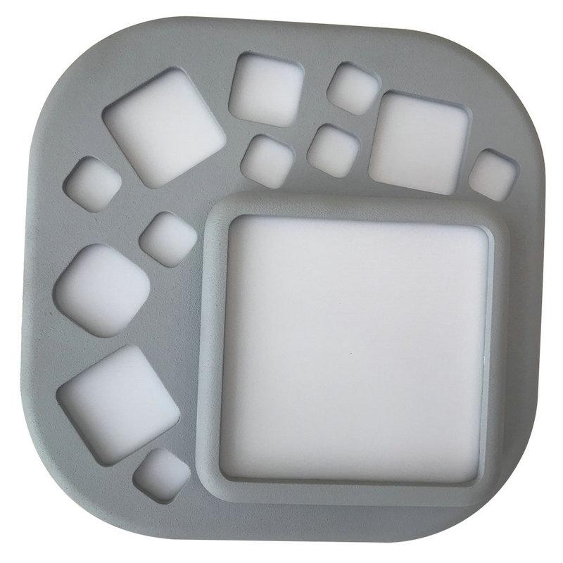 F/ête D/écoration murale pour chambre de b/éb/é Mariage cloche blanche chaude D/écoration de No/ël Studio Lumi/ères n/éon /à LED