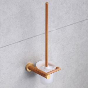 (Entrepôt UE) Style européen simple Accessoires de salle de bain support de brosse de toilette