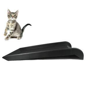 Échelle simple en PP noir pour animaux