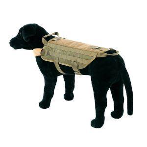 Gilet de dressage avec sac en nylon 600D pour chien grand