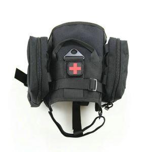 Gilet de dressage avec sac en nylon 1000D pour chien