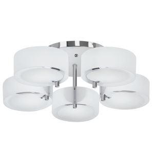 Plafonnier à 5 lampes acrylique luminaire pour chambre salle
