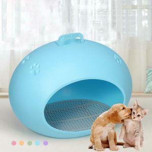 Nid en plastique ovale creative pour chien chat