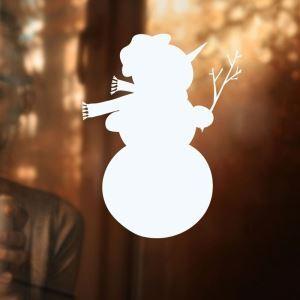 Sticker bonhomme de neige livraison gratuite