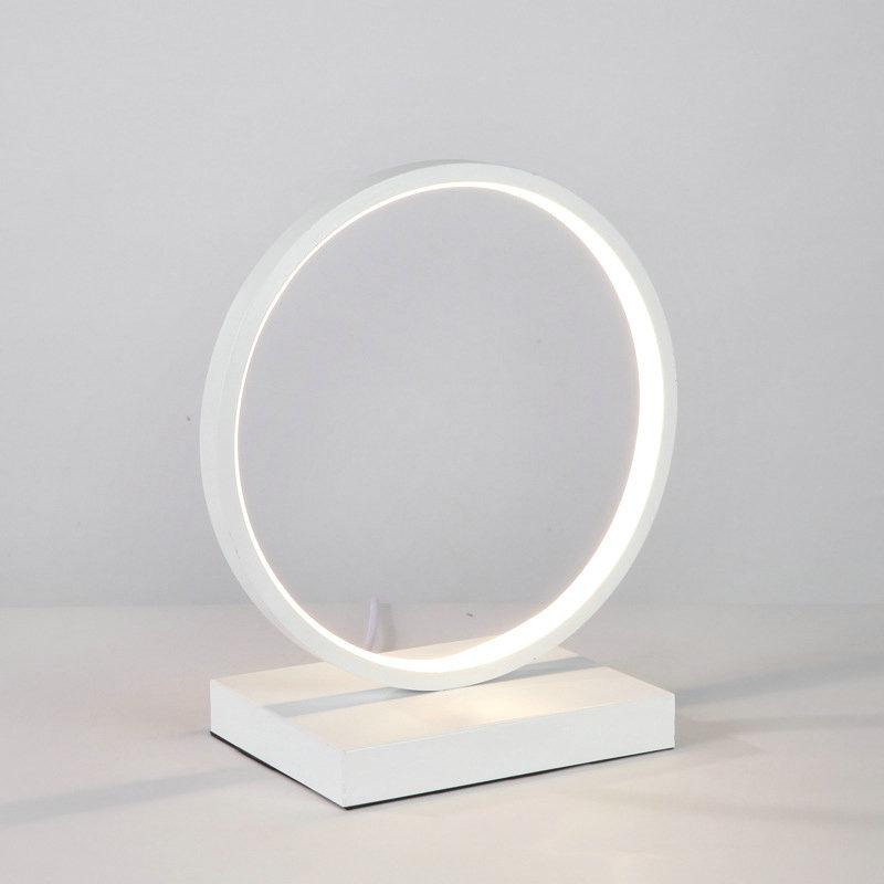 Led H2332cm En Pour Chambre Aluminium Jour Poser Abat À Lampe Cercle D'acrylique Blanc Fer Salon ZwXuTkOilP