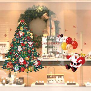 Sticker sapin Père Noël livraison gratuite
