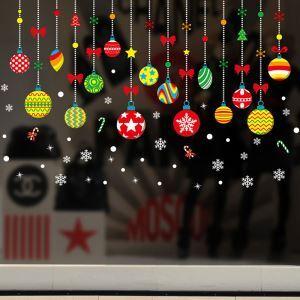 Sticker ball Noël livraison gratuite