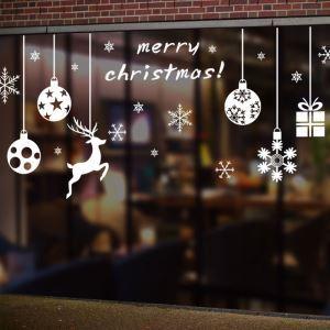 Sticker ball neige Noël livraison gratuite