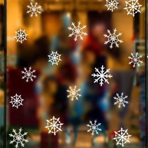 Sticker neige Noël livraison gratuite