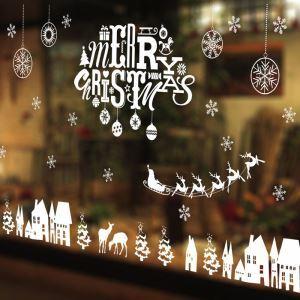 Sticker Noël lettres livraison gratuite