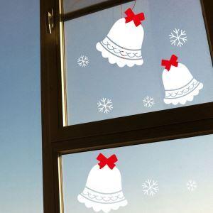 Sticker clochette Noël livraison gratuite