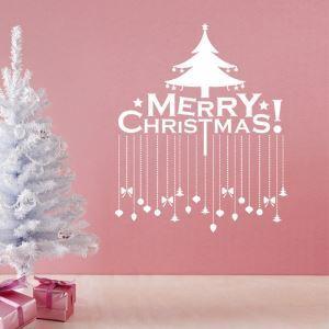 Sticker Merry Christmas Noël livraison gratuite