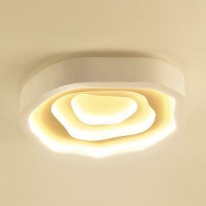 LED plafonnier nuage en acrylique D52cm pour chambre salle