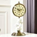 Horloge silencieuse en métal 4 modèles ange créatif