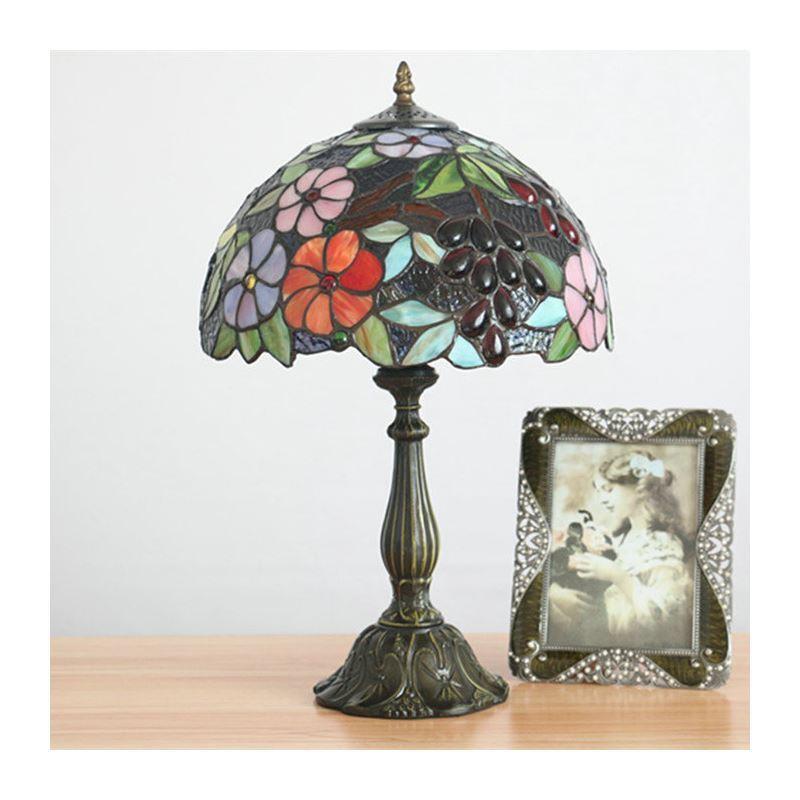 D Chevet 30 Floral De Lampe Chambre Salle Cuisine Tiffany Cm Luminaire Bronzé dtshrQ