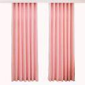 Rideau tamisant jacquard en chenille rose pour chambre à coucher américain simple