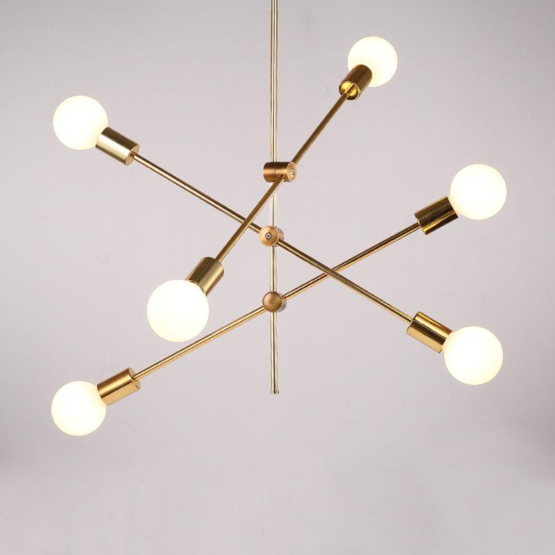 Ligne Plaquage Métal 246 En Chambre Pour Lampes Simple Suspension Salle D10510090cm Or WDHbE29YeI