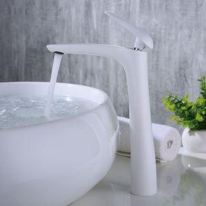 Mitigeur de lavabo laiton H27.2cm 3 couleurs peinture de cuisson pour salle de bain