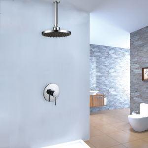 Pommeau de douche en laiton massif, encastré au plafond