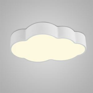 Plafonnier LED lampe de plafond pour cuisine salle à manger chambre luminaire nuage simple moderne