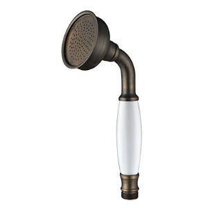 (Entrepôt UE) Bronze Antique Fini Laiton manipulé tête de douche