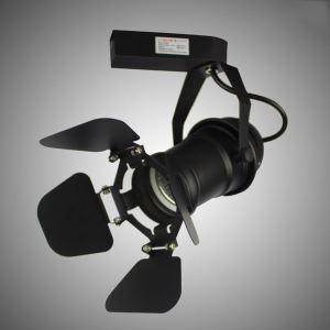 Projecteur spot moderne avec protection anti-éblouissement plafonnier rotatif pour salon chambre à coucher