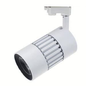 Projecteur en aluminium LED colonne simple pour vitrine salle à manger